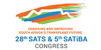 28th SATS & 5th SATiBA Congress 2019  I  6-8 September I  Cape Town